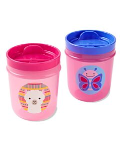 Skip Hop: Zoo Tumbler Cups - Butterfly & Llama - 14% OFF!!