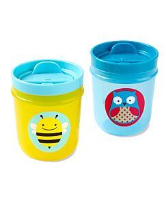 Skip Hop: Zoo Tumbler Cups - Owl & Bee - 14% OFF!!