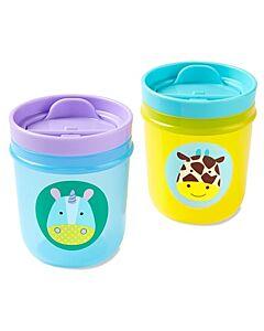 Skip Hop: Zoo Tumbler Cups - Unicorn & Giraffe - 14% OFF!!