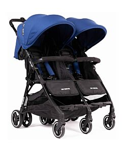 Baby Monsters | Kuki Twin Stroller (Birth to 15kg / each seat) - Midnight - 20% OFF!! - PREORDER
