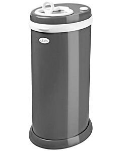 Ubbi Diaper Pail - Slate dark grey (RM104 OFF!!)