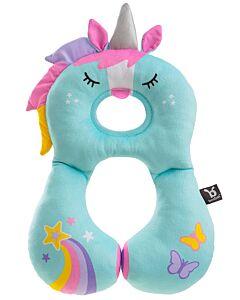 BenBat Travel Friends: Total Support Head & Neck rest - Unicorn