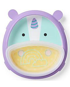 Skip Hop: Zoo Smart Serve Plate & Bowl - Unicorn - 20% OFF!!