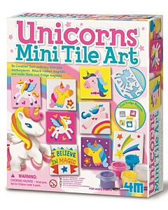 4M Unicorns Mini Tile Art - 15% OFF!!