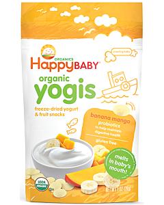 Happy Baby: Happy Yogis - Organic Yogurt Snacks - Banana Mango