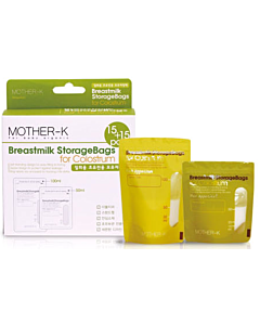 MOTHER-K: Breastmilk Storage Bags for Colostrum (15+15pcs) - 17% OFF!!