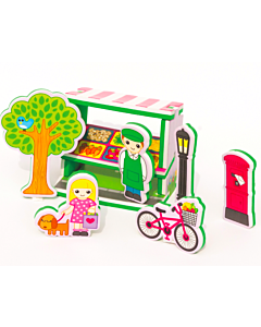 Meadow Kids: Build and Play Market Stall - 50% OFF!