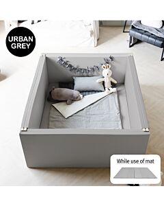 ALZiP® Mat Bumper Bed   Size EX-L (140*156*60cm) - Urban Grey
