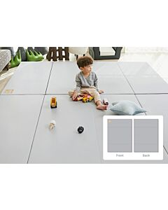 ALZiP® Mat Baby Foldable Silion Playmat   Size G (200*140*4cm) - Urban Grey