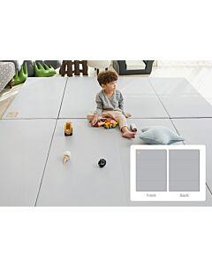 ALZiP® Mat Baby Foldable Silion Playmat   Size XG (280*140*4cm) - Urban Grey