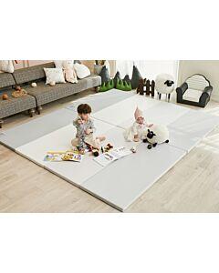 ALZiP® Mat ECO Color Folder   Size S (200*120*4cm) - Urban MilkGrey