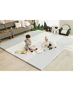 ALZiP® Mat ECO Color Folder   Size XG (280*140*4cm) - Urban MilkGrey