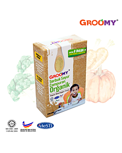 Groomy Mixed Veggies Powder 40g (For 8+ Months) - 10% OFF!!