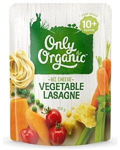 Only Organic: Vegetable Lasagne 170g - 10% OFF!!