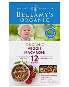 Bellamy's Organic Vegie Macaroni 175g - 10% OFF!!