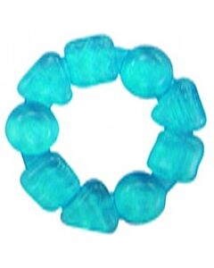 Bright Starts: Water Ring Teether For Emerging Markets (Teethe Around) - Aqua Blue - 10% OFF!!