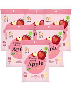 Wel.B Freeze Dried Snacks - Apple - 6 PACKS! - 13% OFF!!