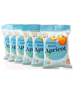 Wel.B Freeze Dried Snacks - Apricot - 6 PACK! - 13% OFF!!