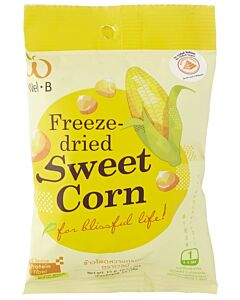 Wel.B Freeze Dried Snacks - Sweetcorn - 12% OFF!!
