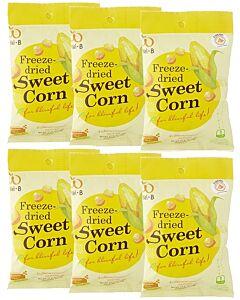 Wel.B Freeze Dried Snacks - Sweetcorn - 6 PACKS! - 13% OFF!!