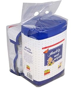 Anakku: Baby Wet Wipes Canister 150's + Refill Pack 100's