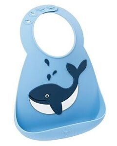 Make My Day: Baby Bib - Whale - 20% OFF!!