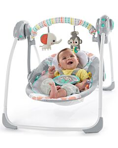 Bright Starts: Whimsical Wild™ Portable Swing