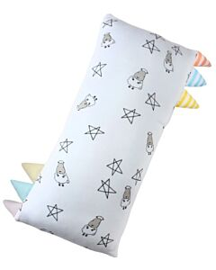 Baa Baa Sheepz: Bed-Time Buddy Small Star & Sheepz White with Color & Stripe Tag (Medium) - 10% OFF!!
