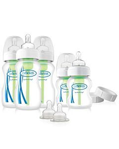 Dr. Brown's: Options™ PP Wide-Neck Bottle - Newborn Feeding Set - 31% OFF!!