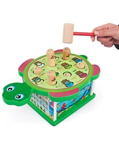 Funny Kid's: Wooden Turtle Playing Hamster - 10% OFF!!