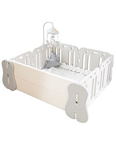 GGUMBI: World Guard Baby Room (Ivory + Grey) (with Licoco Folder Play Mat)