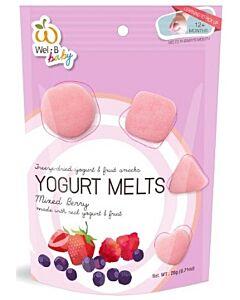 Wel.B Baby Freeze Dried Yogurt Melts - Mixed Berry - 10% OFF!!