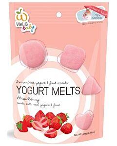 Wel.B Baby Freeze Dried Yogurt Melts - Strawberry - 10% OFF!!