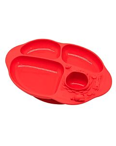 Marcus & Marcus | Yummy Dips Suction Divided Plate | Marcus (Lion) - 10% OFF!!