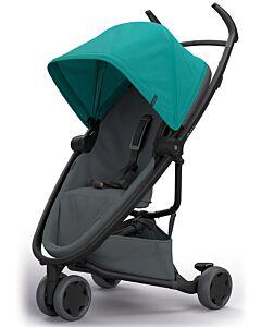 Quinny Zapp Flex Stroller | Green on Graphite - 30% OFF!! + FREE!! Maxi Cosi Cabriofix Travel System