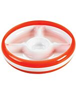 OXO TOT: Divided Plate with Removable Ring - Orange - 25% OFF!