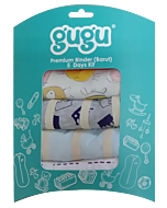 Gugu Premium Binders String - 5 Days Kit - Boy