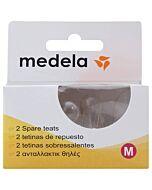 Medela: Breastmilk Bottle Spare Teats (Pack of 2) - Medium Flow - 10% OFF!!