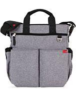Skip Hop: Duo Signature Diaper Bag - Heather Grey - 15% OFF!!