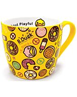 SEMK: B.Duck Ceramic Mug - Pattern