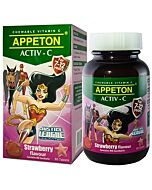 Appeton Activ-C (Strawberry) Tablets 60's (For 7-12 Years Old) - 10% OFF!
