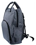 Autumnz - PERFECT Diaper Backpack - Grey - 15% OFF!!