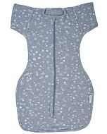 Autumnz: Convertible Swaddle Pouch (Safe & Snug for Baby) - Starlight Grey (Size M) - 15% OFF!!