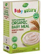Baby Natura: Organic Brown Rice Porridge