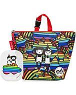 BabyMel LunchBag + Ice Pack (Rainbow Multi) - 15% OFF!!