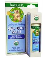 Badger: After-Bug™ Balm - *Organic Bug Bite Relief Stick with Colloidal Oatmeal* (Bite Relief Stick) 0.6oz - 10% OFF!