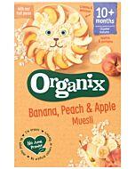 Organix Banana, Peach & Apple Muesli 200g (10+ Months)