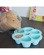 Beaba: Multiportions silicone tray 6x90ml (Blue) - 20% OFF!!