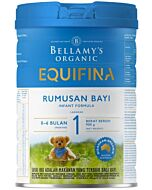 Bellamy's Organic Infant Formula (Step 1) EQUIFINA 900g - 17% OFF!!
