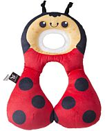 BenBat Travel Friends: Total Support Head & Neck rest - Ladybug (1-4 years old) - 25% OFF!!